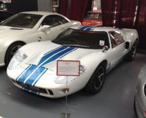 Ford GT40, London Motor Museum
