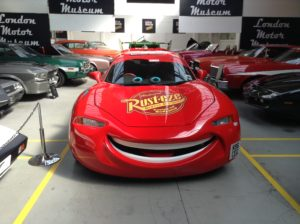 Blesk Mc. Queen, London Motor Museum