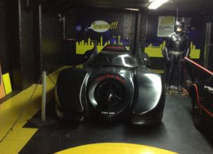 Batmobil v London Motor Museum