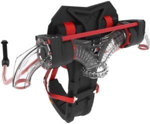 Tryskový batoh v celé své kráse - Jetpack