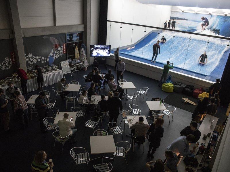 Surfovací aréna Praha Letňany