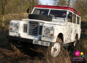 zážitková jízda Land Rover, ZÁŽITKY