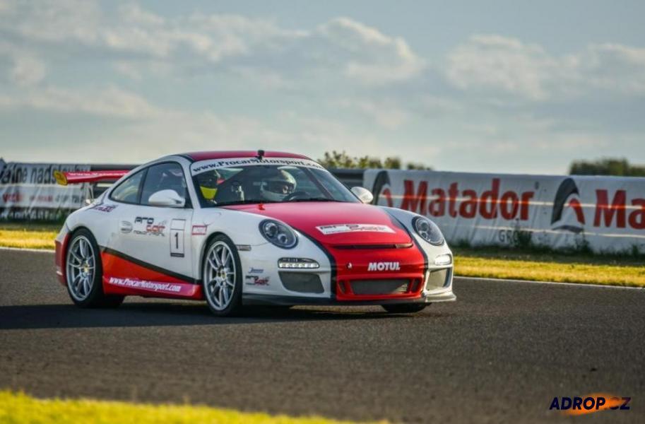 Jízda na okruhu s Porsche 911 GT3