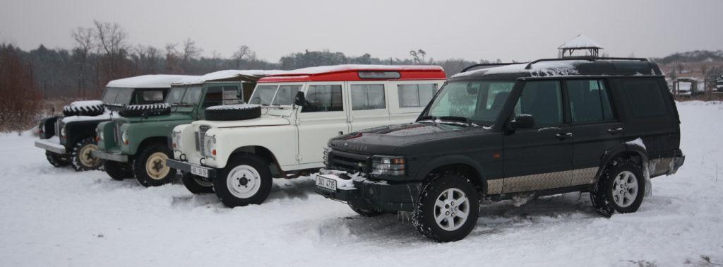 Zážitková jízda Land Roverem