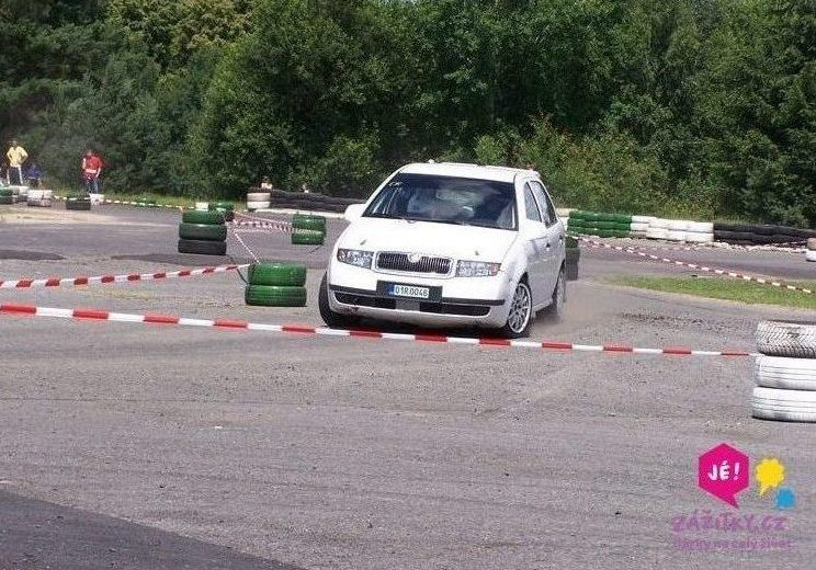 Škoda Fabia A5 ve smyku