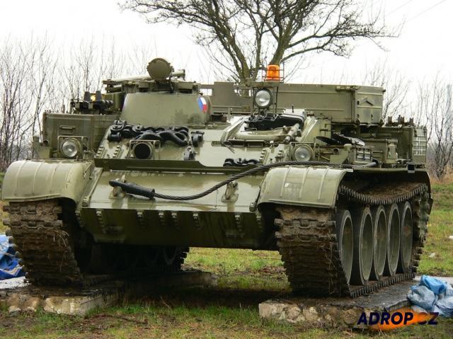 Vyprošťovací tank VT55