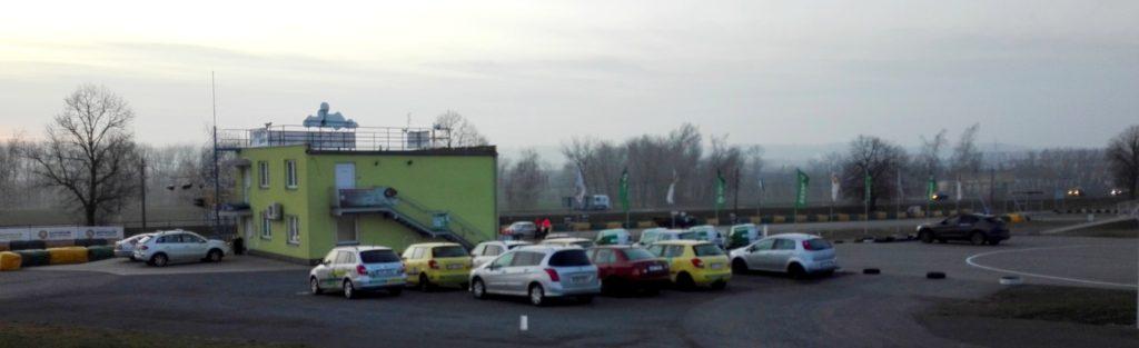 Učebna školy smyku na autodromu ve Vysokém Mýtě