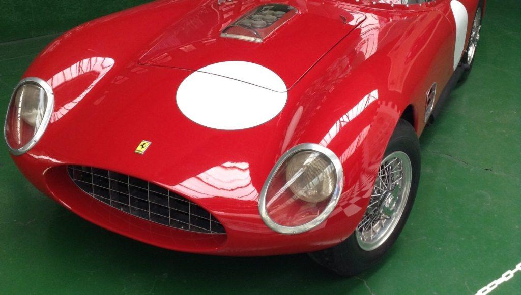 Ferrari slaví 70 let, Foto z London Motor Museum, jízda zážitková