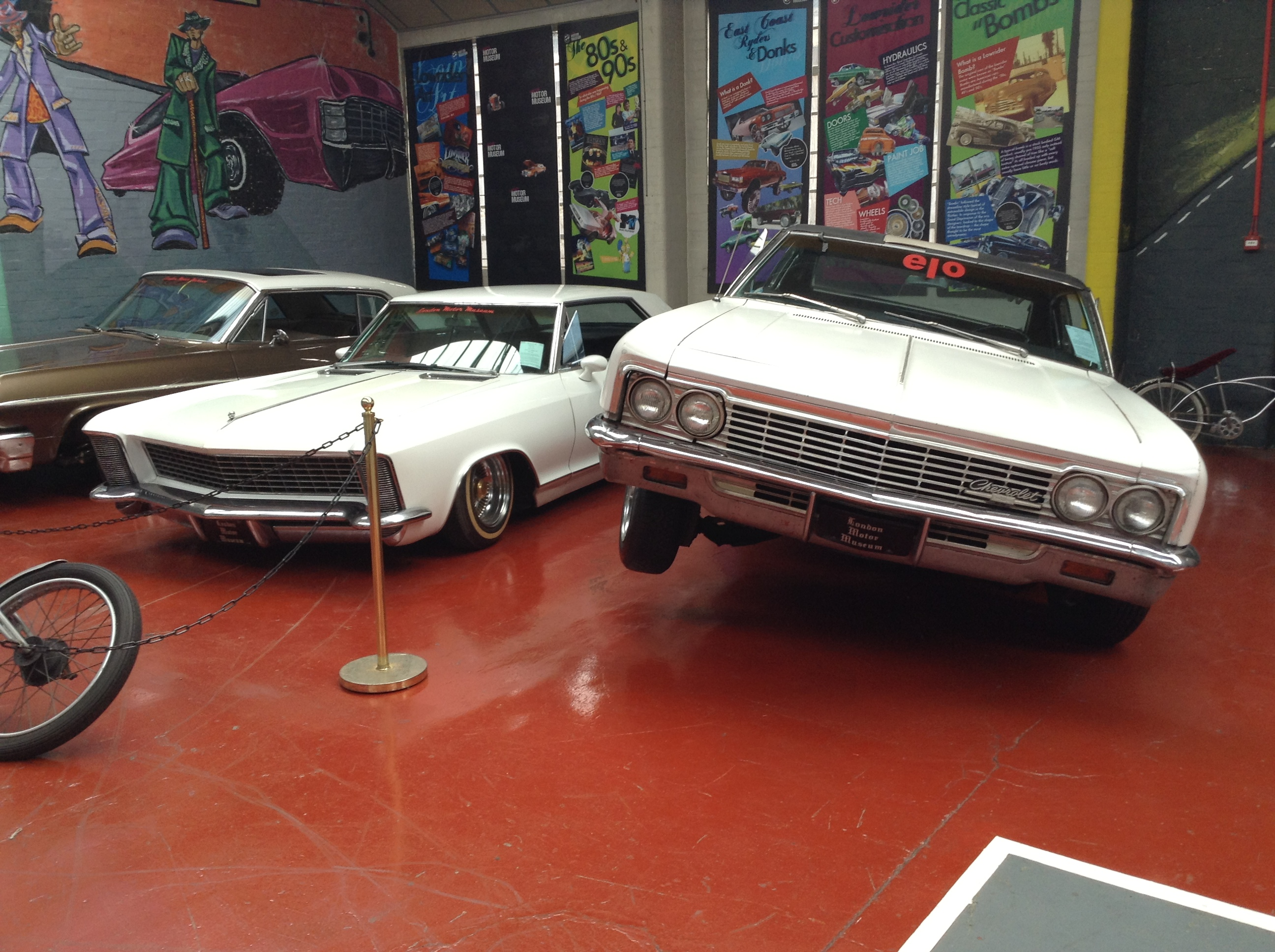 Lowriders v London Motor Museum