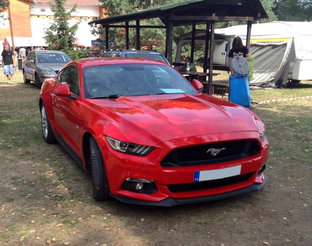 Ford Mustang 6, jízda mustangem