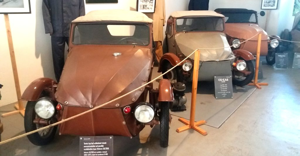 Výstava vozů Velorex 2019