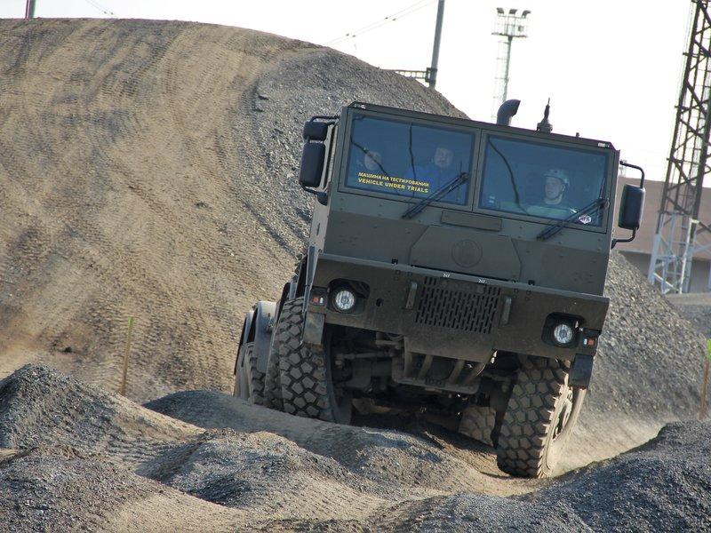 Jízda s vojenskou Tatrou 815 8x8, zážitkové jízdy s náklaďákem