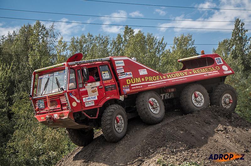 Jízda v náklaďáku Tatra 813