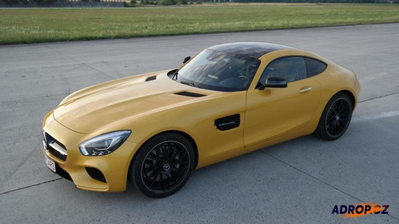 Jízda v Mercedesu AMG GTS V