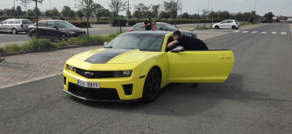 Zapůjčení Chevrolet Camaro