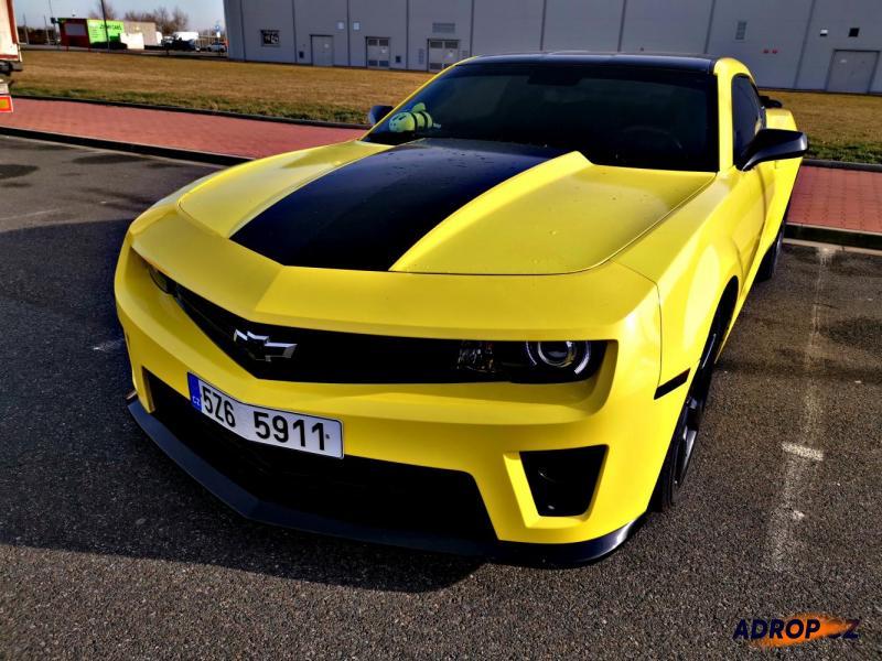 Zapůjčení Chevroletu Camaro