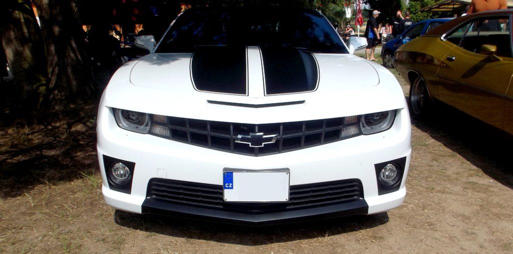 Chevrolet Camaro na Hradecké V8