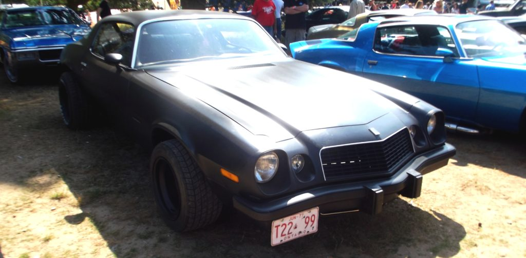 Chevrolet Camaro 1976 na Hradecké V8