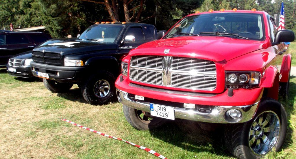 Dodge Ram na Hradecké V8