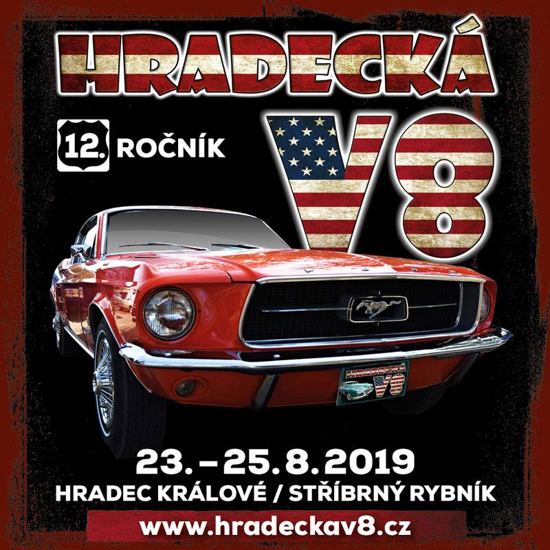 Plakát Hradecká V8 2019