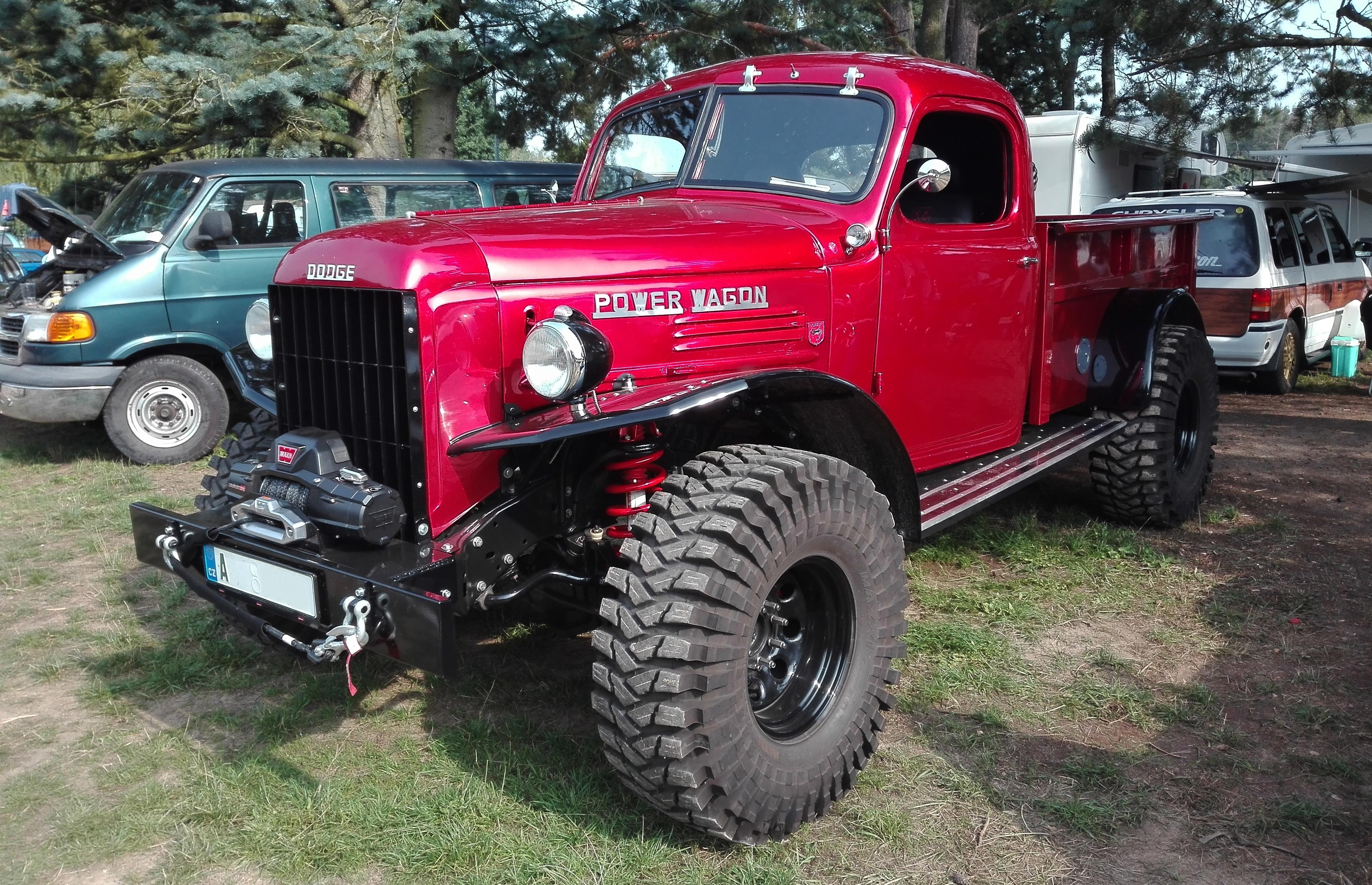 Dodge Power Wagon - unikátní vůz na Hradecká V8