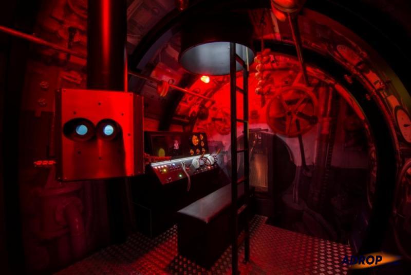 Simulátor ponorky a jeho grafické efekty