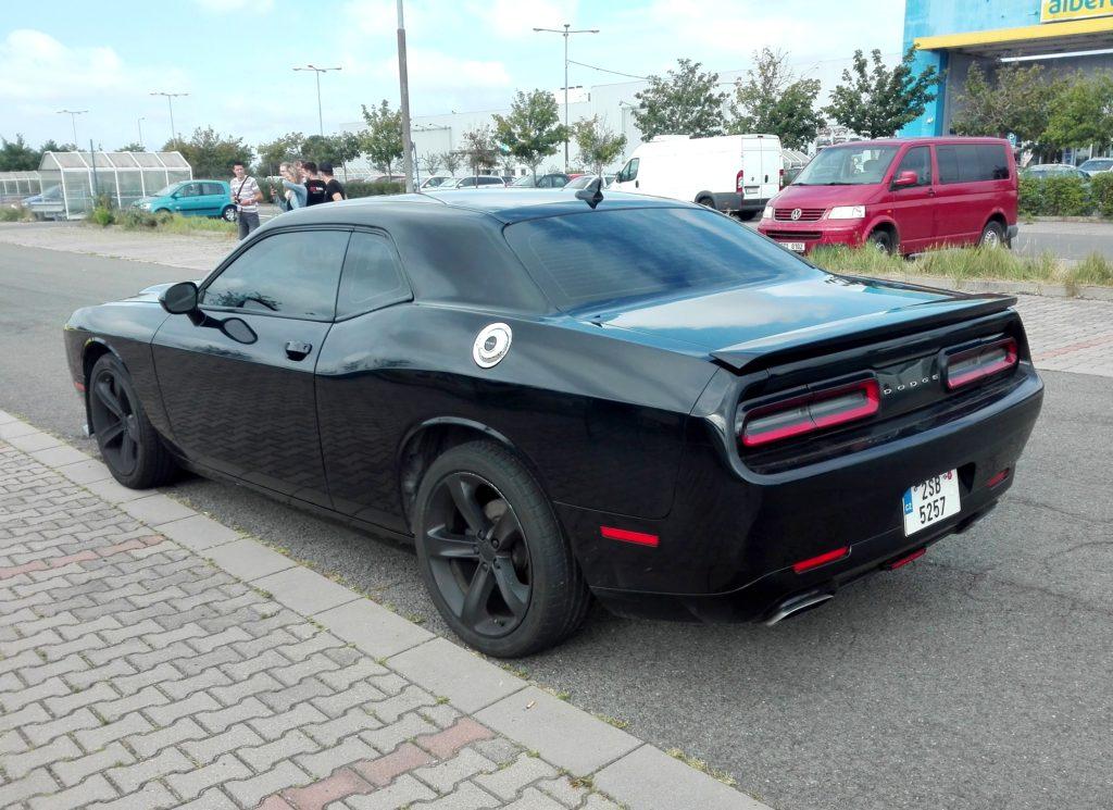 Půjčení Dodge Challengeru