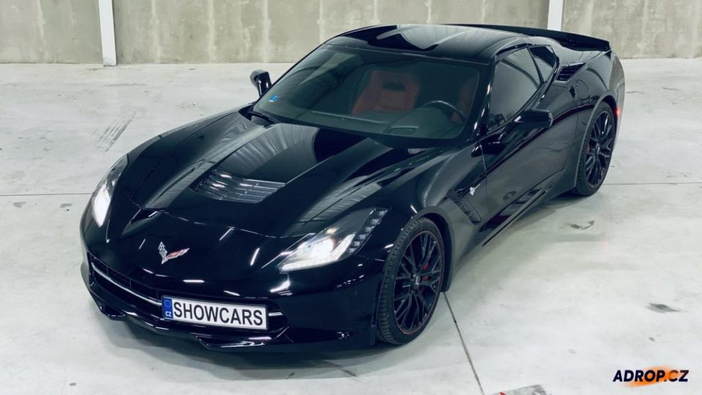 Jízda v Chevrolet Corvette c7 Praha