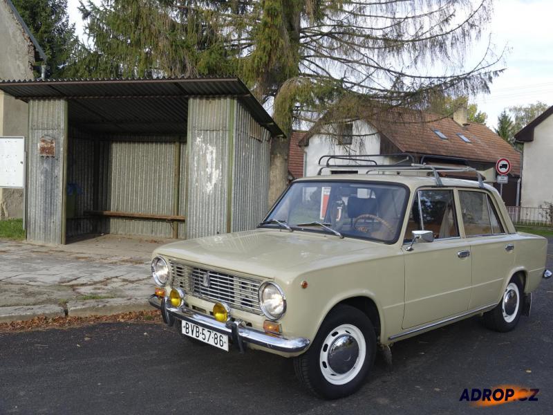 Jízda veteránem Žiguli, Lada 1200 Praha
