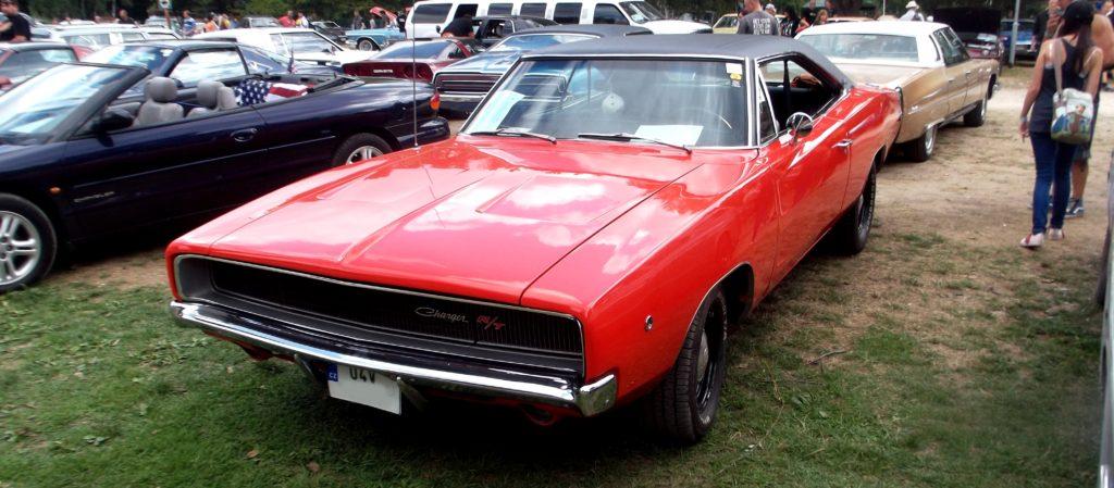 Dodge Charger R/T 1968 (2. generace) na Hradecké V8