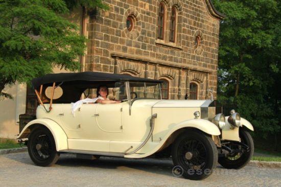 zážitková jízda v Rolls Royce