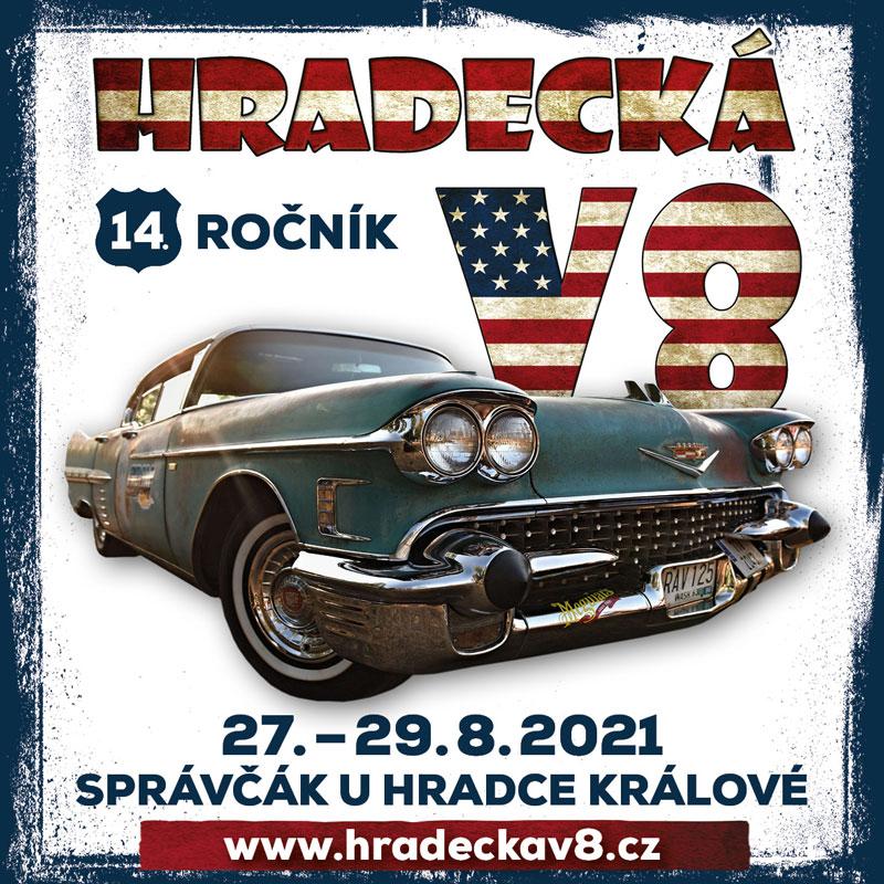 Hradecká V8 2021 banner